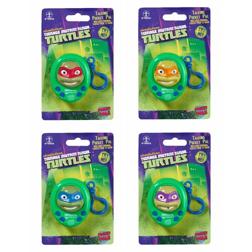 Teenage Mutant Ninja Turtles Talking Key Chain Case