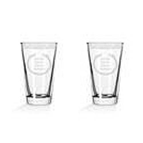 Vikings Wise Man and Coward Pint Glass 2-Pack