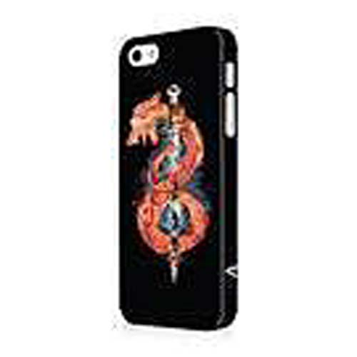 Vikings Sword and Flame Snake Black iPhone 5 Case