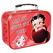 Betty Boop Girls Just Wanna Have Funds Lunch Box