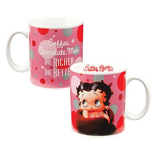 Betty Boop The Richer The Better Mug