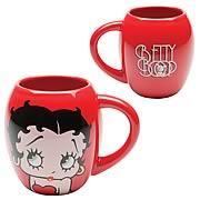 Betty Boop Red Mug