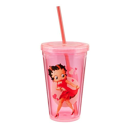 Betty Boop Acrylic Travel Cup