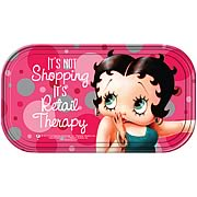 Betty Boop Retail Therapy Magnetic Mini Tin Sign