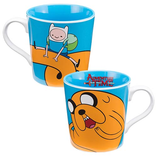 Adventure Time with Finn and Jake 12 oz. Ceramic Mug