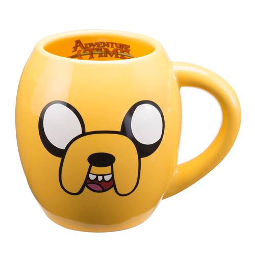 Adventure Time with Finn and Jake 18 oz. Oval Ceramic Mug