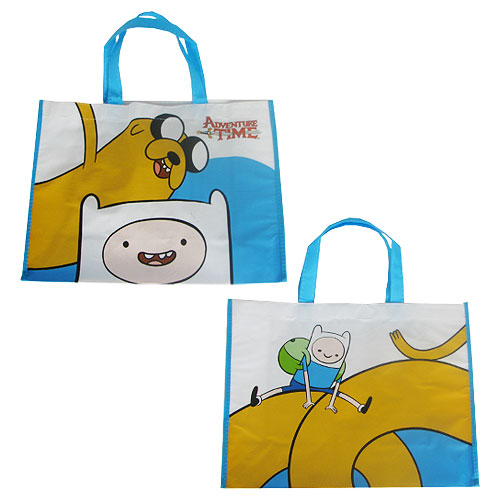 Adventure Time with Finn and Jake Large Shopper Tote