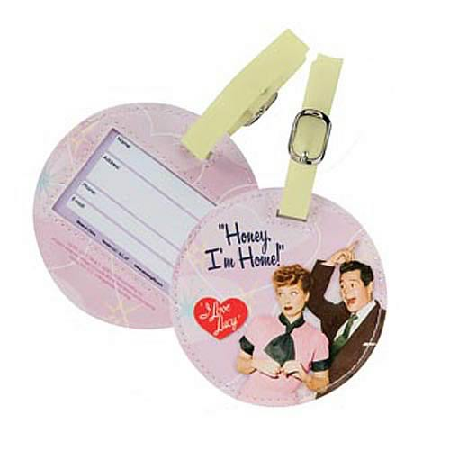 I Love Lucy Honey I'm Home Luggage Tag