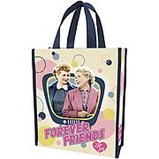I Love Lucy Forever Friends Small Resuable Shopping Tote