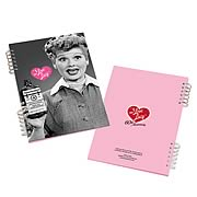 I Love Lucy Lenticular Notebook