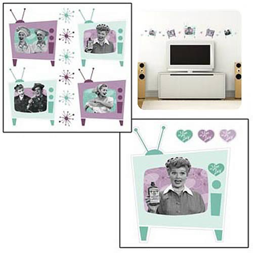 I Love Lucy Wall Decal Set