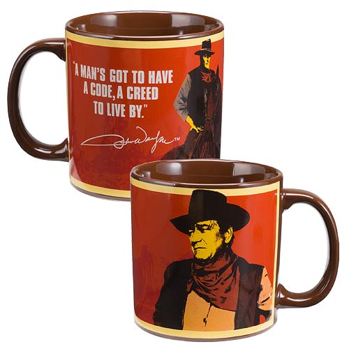 John Wayne Creed 20 oz. Ceramic Mug