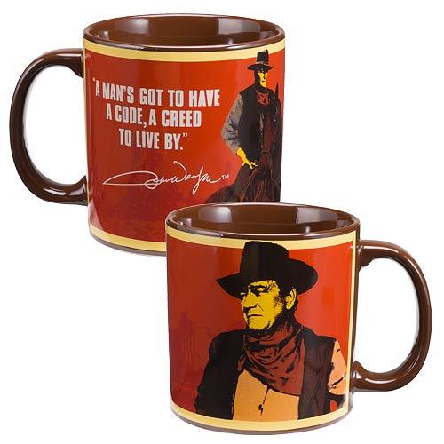 John Wayne Creed 20 oz. Ceramic Mug