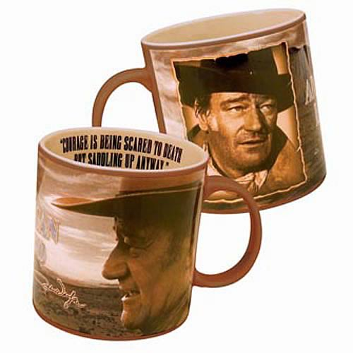 John Wayne Courage Mug