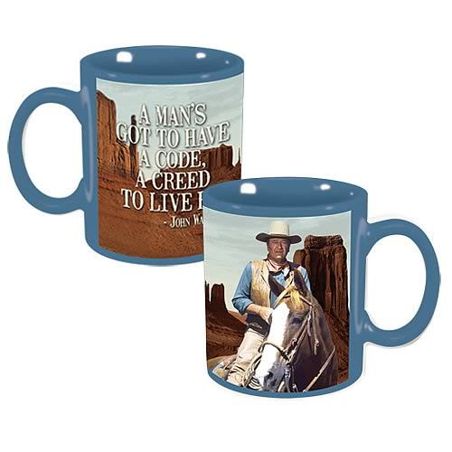 John Wayne Creed Mug