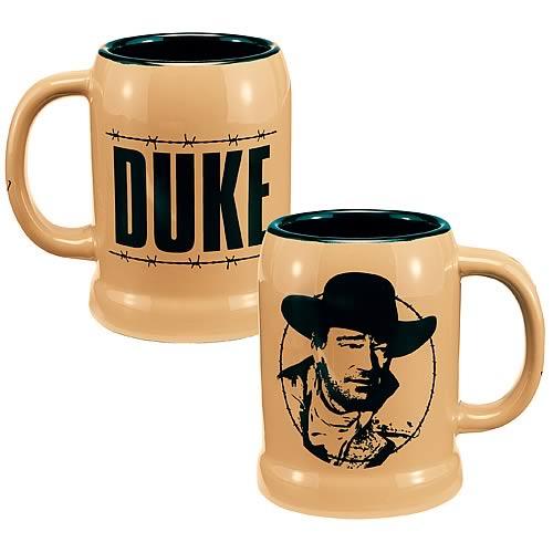 John Wayne Duke Ceramic Stein