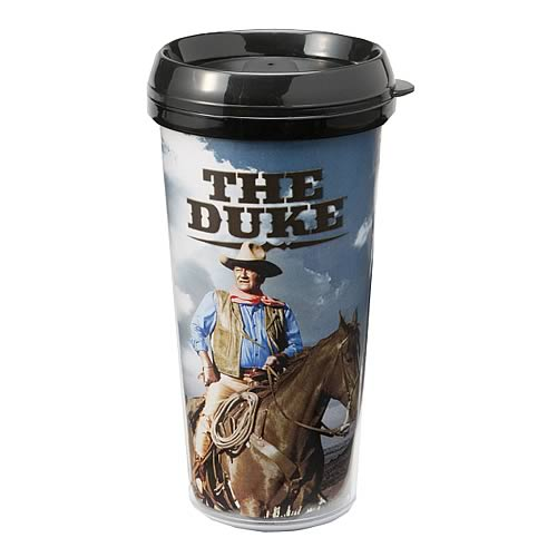 John Wayne The Duke Plastic Travel Mug