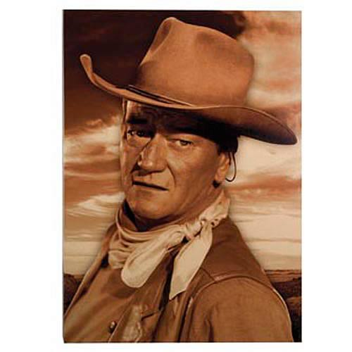John Wayne Stretched Canvas Print