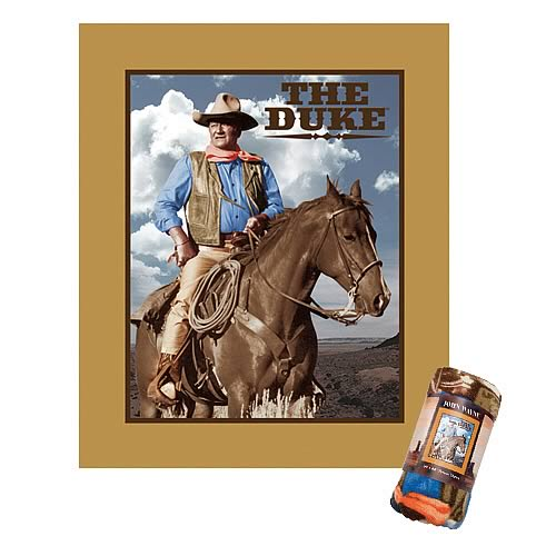 John Wayne The Duke Micro Fleece Throw