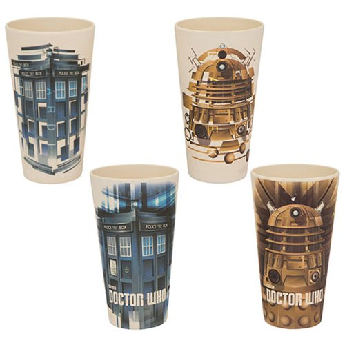 Doctor Who 24 oz. Bamboo Tumblers 2-Pack Set