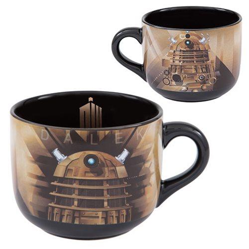 Doctor Who 20 oz. Ceramic Soup Mug