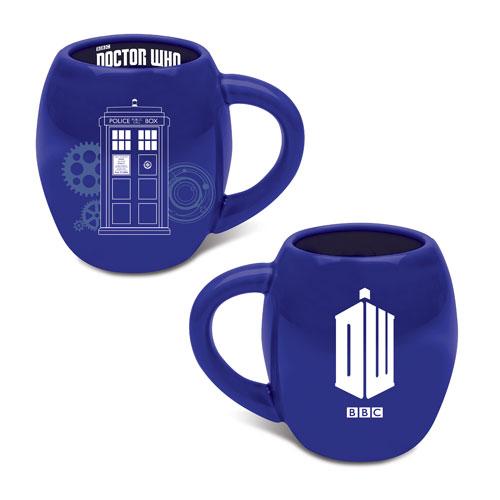 Doctor Who 18 oz. Oval Ceramic Mug