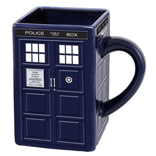 Doctor Who TARDIS Ceramic Sculpted Mug