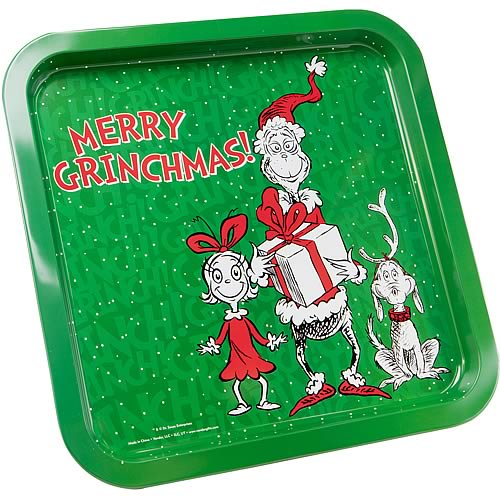 Dr. Seuss The Grinch Tin Tray