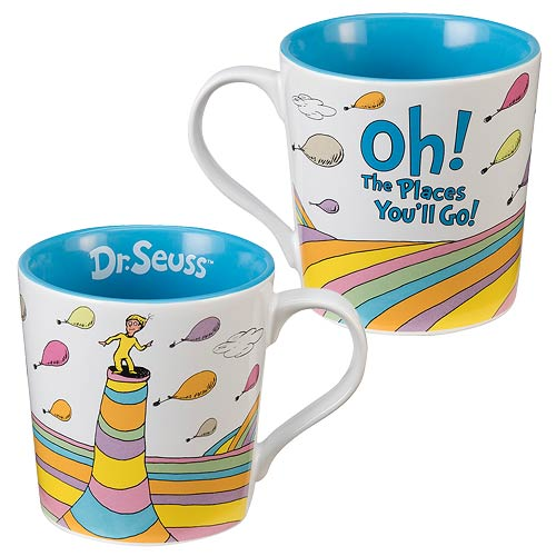 Dr. Seuss Oh the Places You'll Go Mug