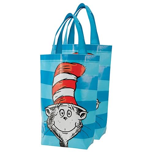 Dr. Seuss Cat in the Hat Small Shopper Totes 2-Pack