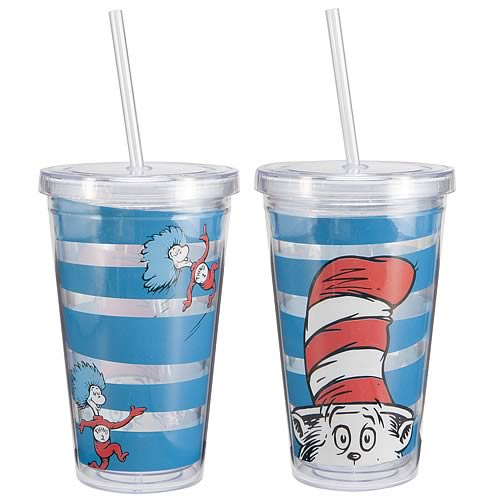 Dr. Seuss The Cat in the Hat Acrylic Travel Cup