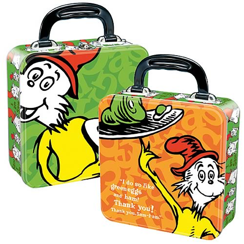 Dr. Seuss Green Eggs and Ham Square Tin Tote