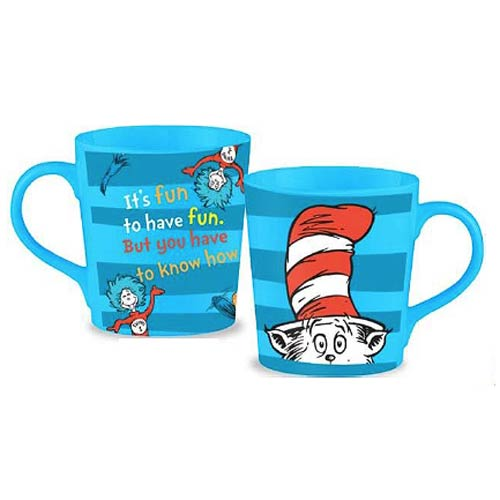 Dr. Seuss Cat in the Hat 12 oz. Ceramic Mug