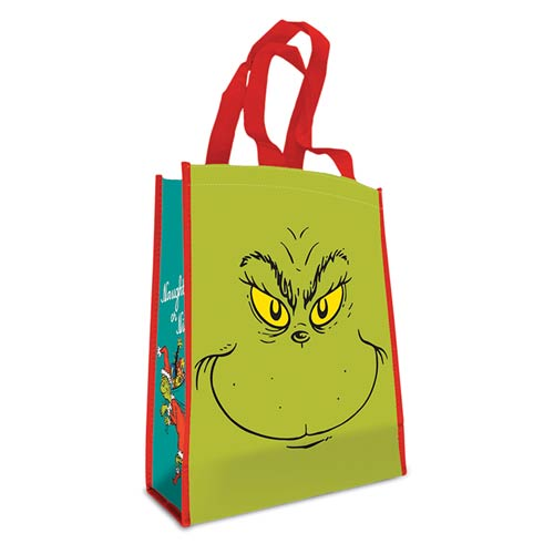 Dr. Seuss Grinch Naughty or Nice Small Recycled Shopper Tote