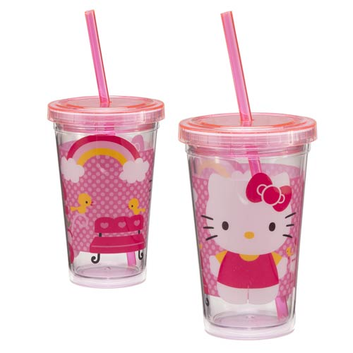 Hello Kitty 12 oz. Acrylic Travel Cup