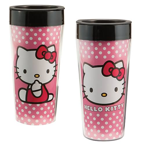 Hello Kitty Plastic Travel Mug