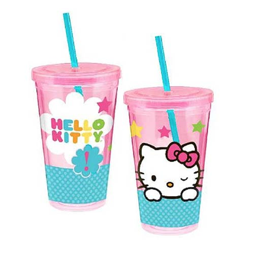 Hello Kitty Stars 18 oz. Acrylic Travel Cup