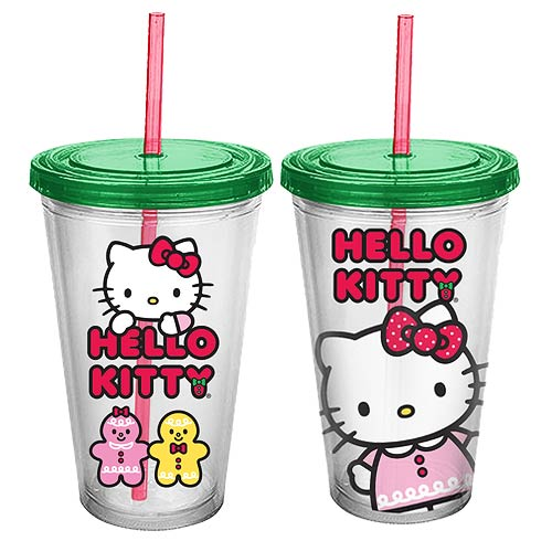 Hello Kitty Holiday 18 oz. Acrylic Travel Cup
