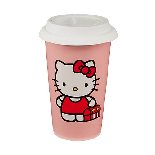 Hello Kitty Double Wall Travel Mug