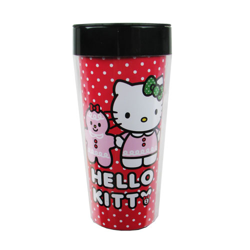 Hello Kitty Holiday 16 oz. Acrylic Travel Mug