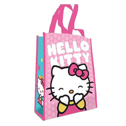 Hello Kitty Pink Dots Small Recycled Shopper Tote