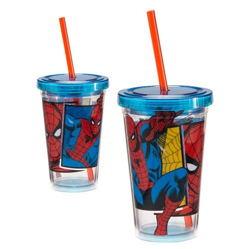 Spider-Man 12 oz. Acrylic Travel Cup