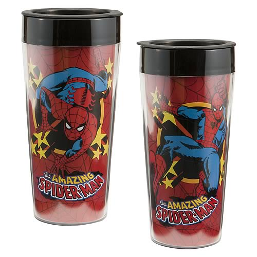 Spider-Man Plastic Travel Mug