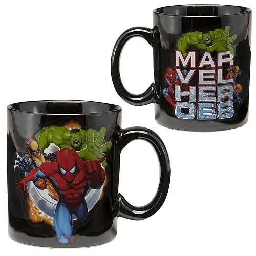 Marvel Heroes Mug
