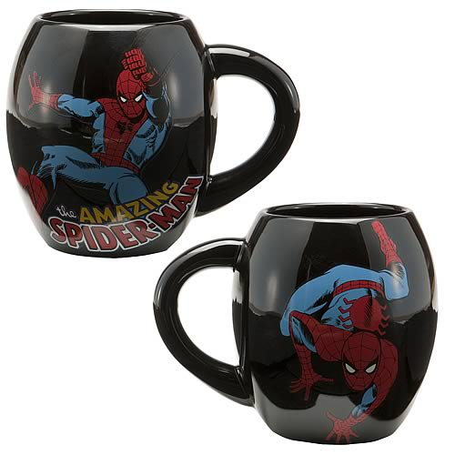 Spider-Man Oval Mug