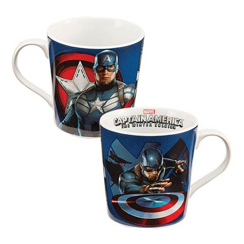 Captain America Winter Soldier Marvel 12 oz. Ceramic Mug