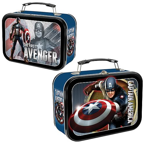 Captain America Movie Lunch Box