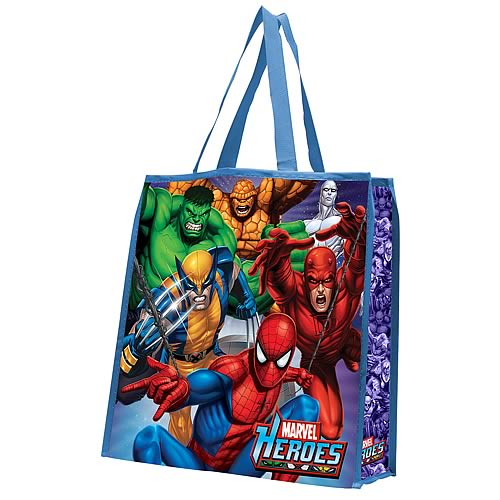 Marvel Heroes Reusable Shopping Tote