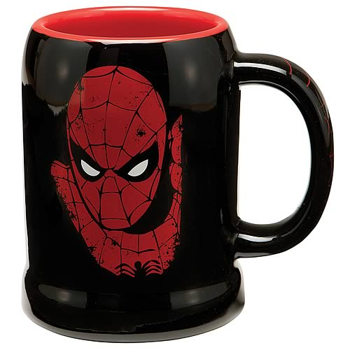 Spider-Man Ceramic Stein
