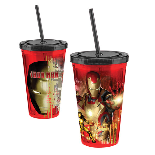 Iron Man 3 Movie 18 oz. Acrylic Travel Cup